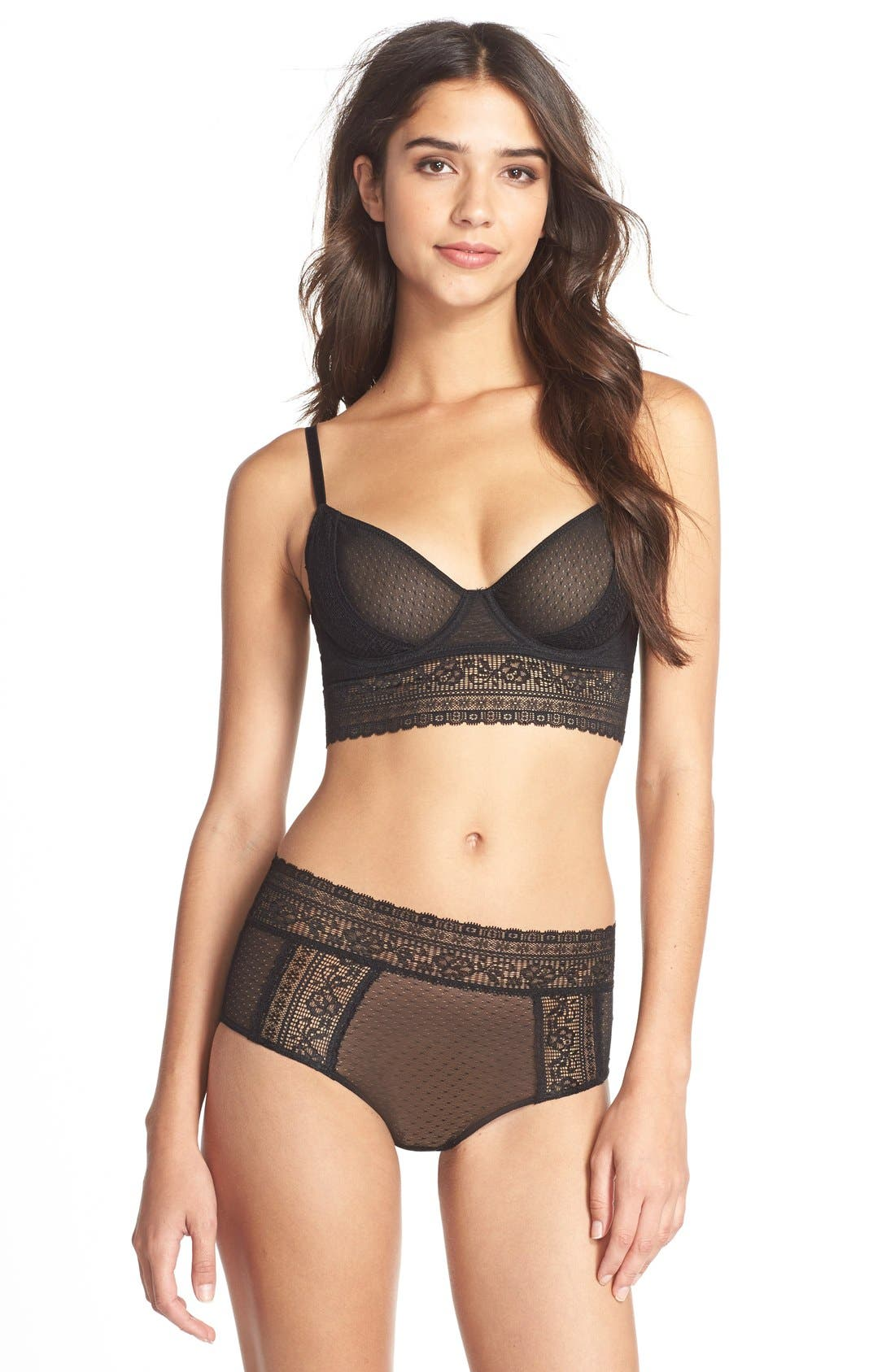 Alternate Image 3  - Free People 'Get Off My Cloud' Underwire Longline Demi Bra