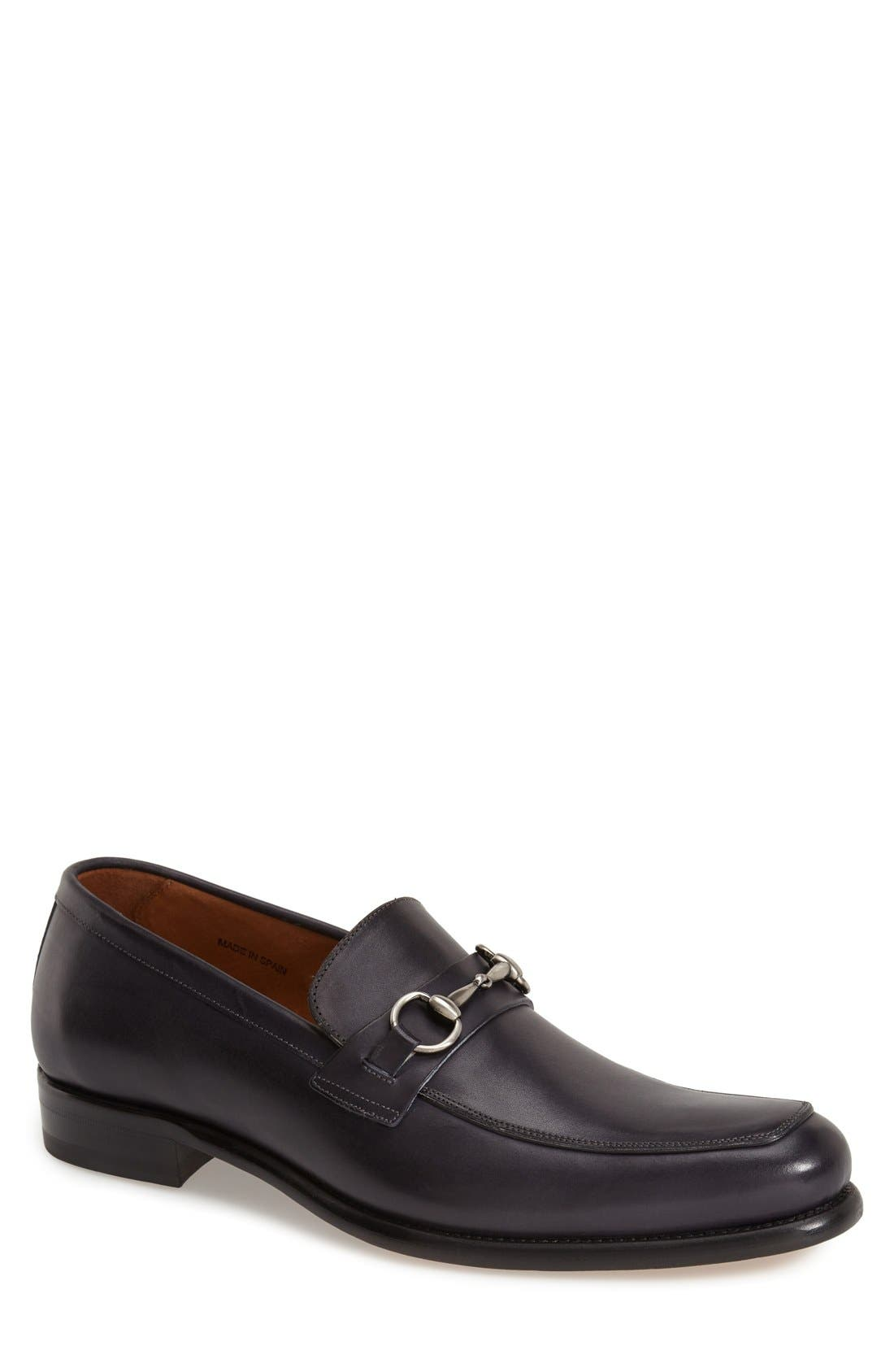 'Worcester' Bit Loafer,                             Main thumbnail 1, color,                             Black