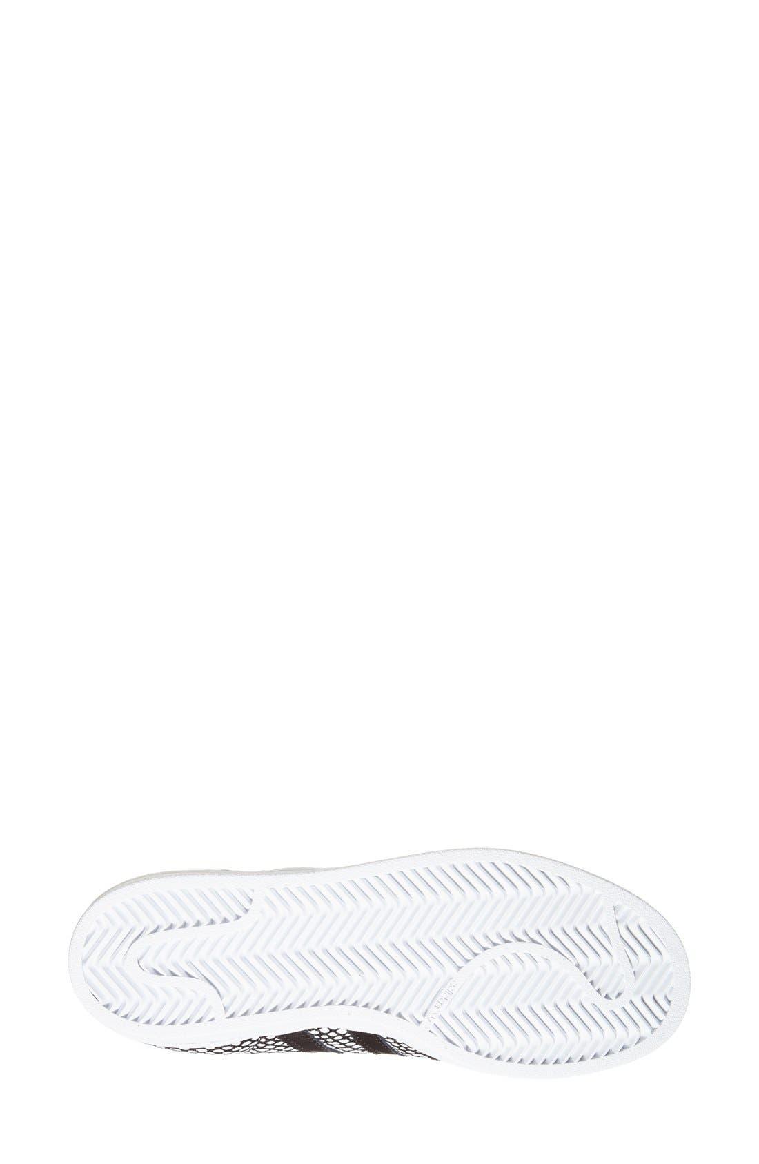 Alternate Image 4  - adidas 'Superstar' Snake Embossed Sneaker (Women)
