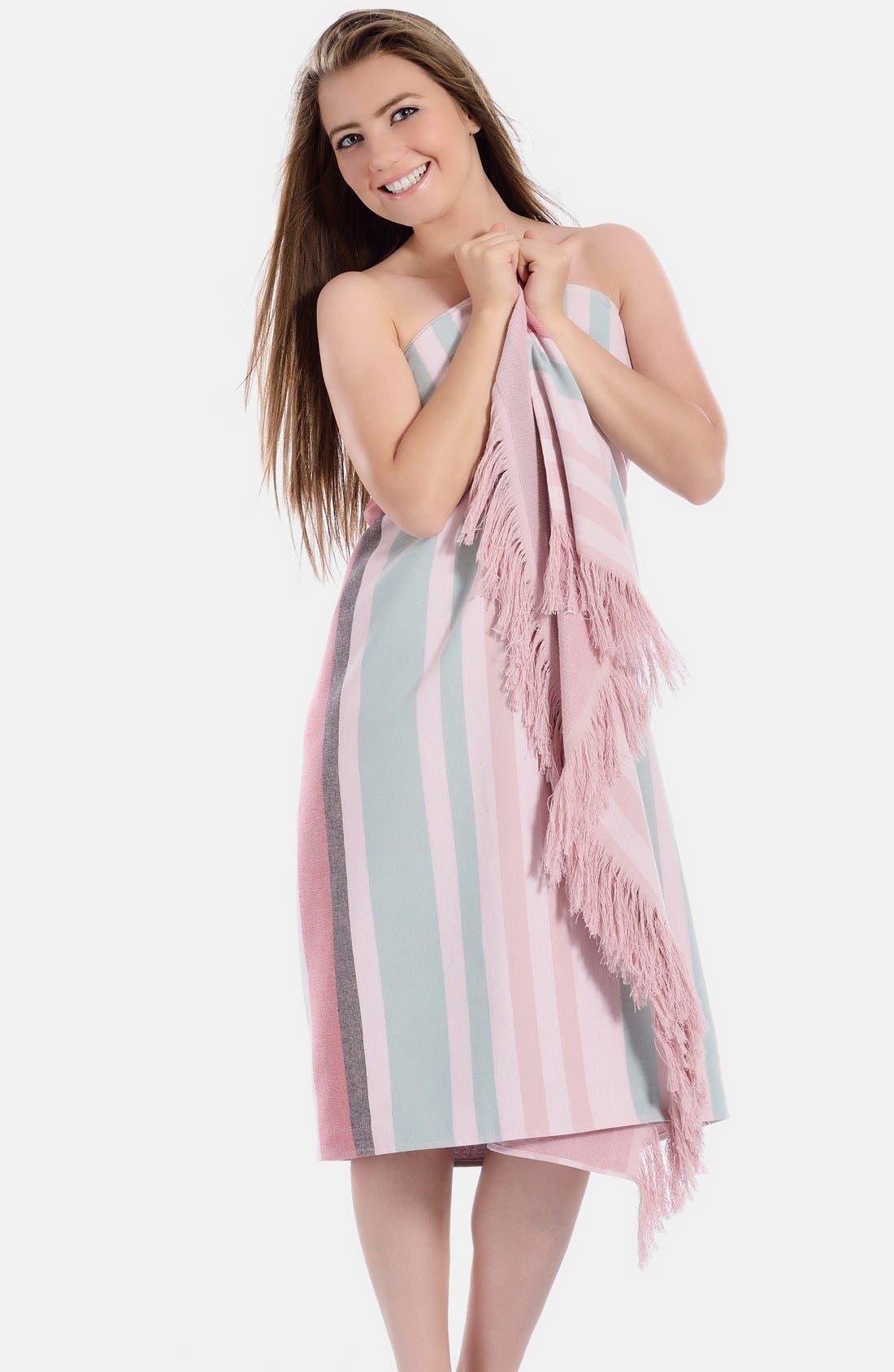 Alternate Image 4  - Linum Home Textiles 'Amalfi' Turkish Pestemal Towel