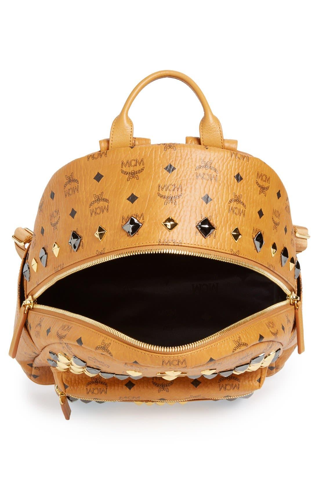 Alternate Image 4  - MCM 'Medium Stark M' Stud Backpack