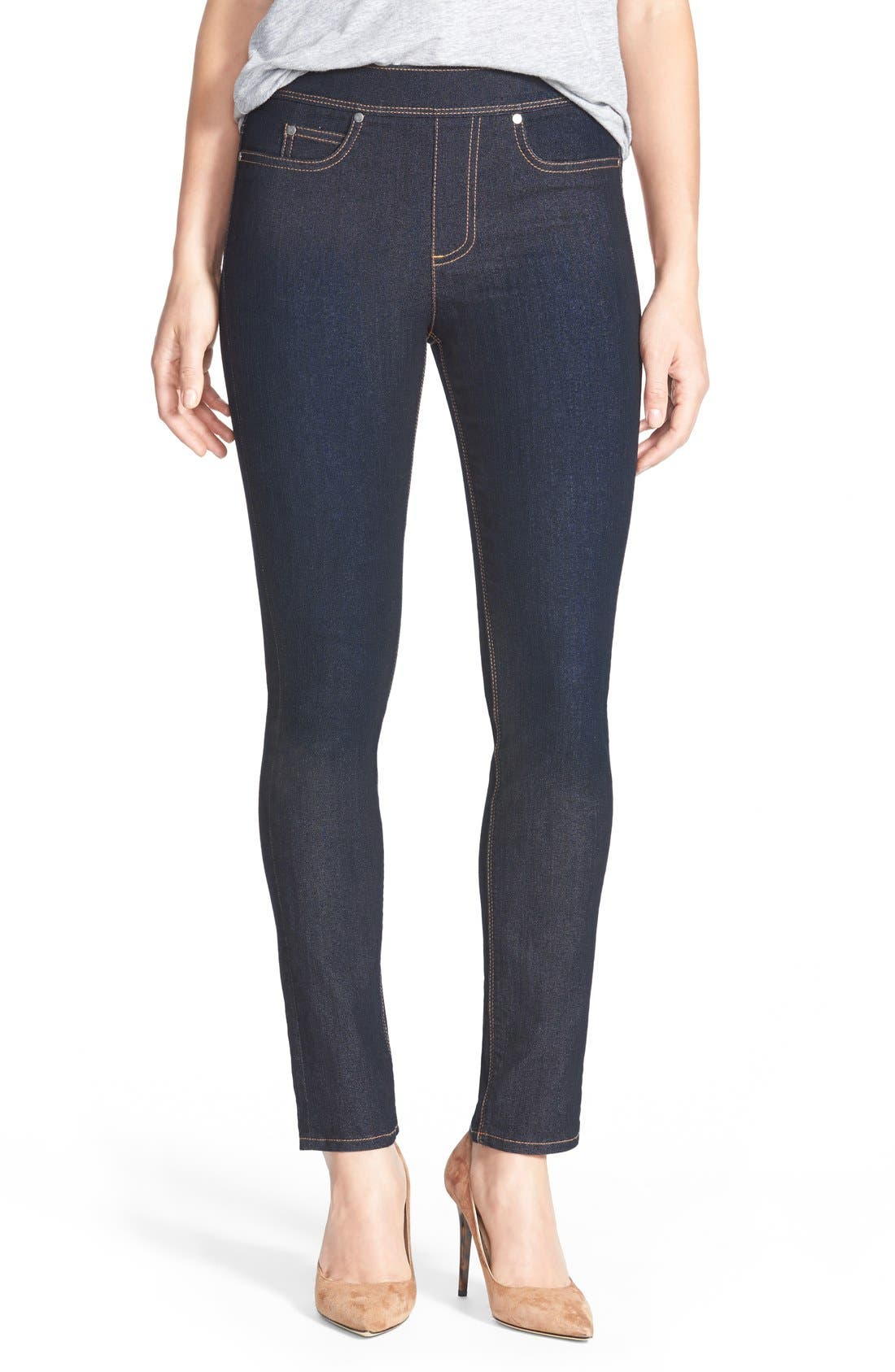 Alternate Image 1 Selected - Two by Vince Camuto Stretch Denim Leggings