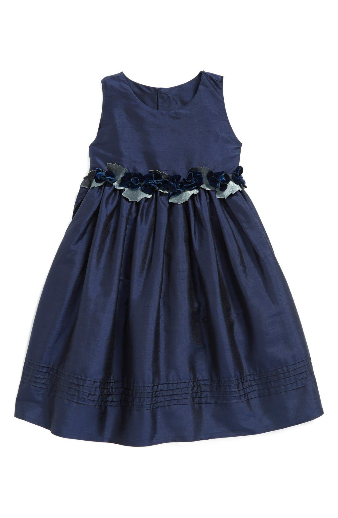 Isabel Garreton Silk Sleeveless A-Line Dress (Baby Girls)
