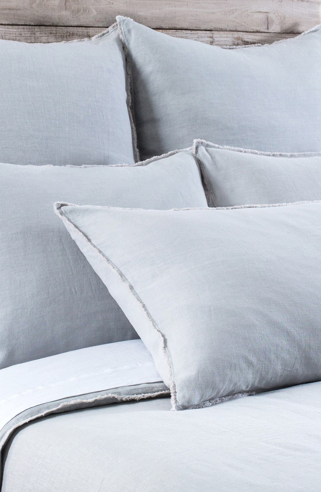 Alternate Image 1 Selected - Pom Pom at Home 'Blair' Linen Duvet Cover