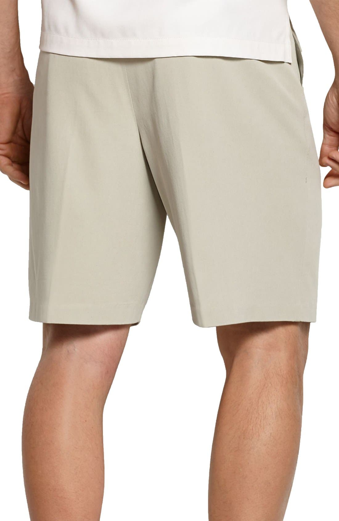 St. Thomas Pleated Shorts,                             Alternate thumbnail 2, color,                             Abbey Stone