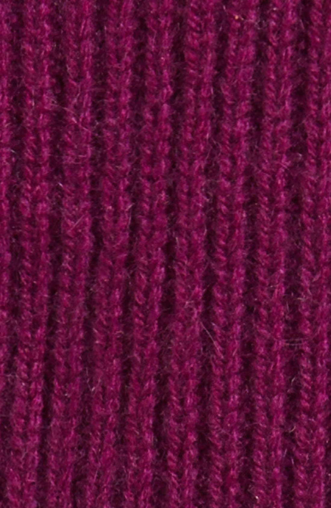 Halogen<sup>®</sup> 'Touch Tech' Cashmere Gloves,                             Alternate thumbnail 2, color,                             Purple Dark