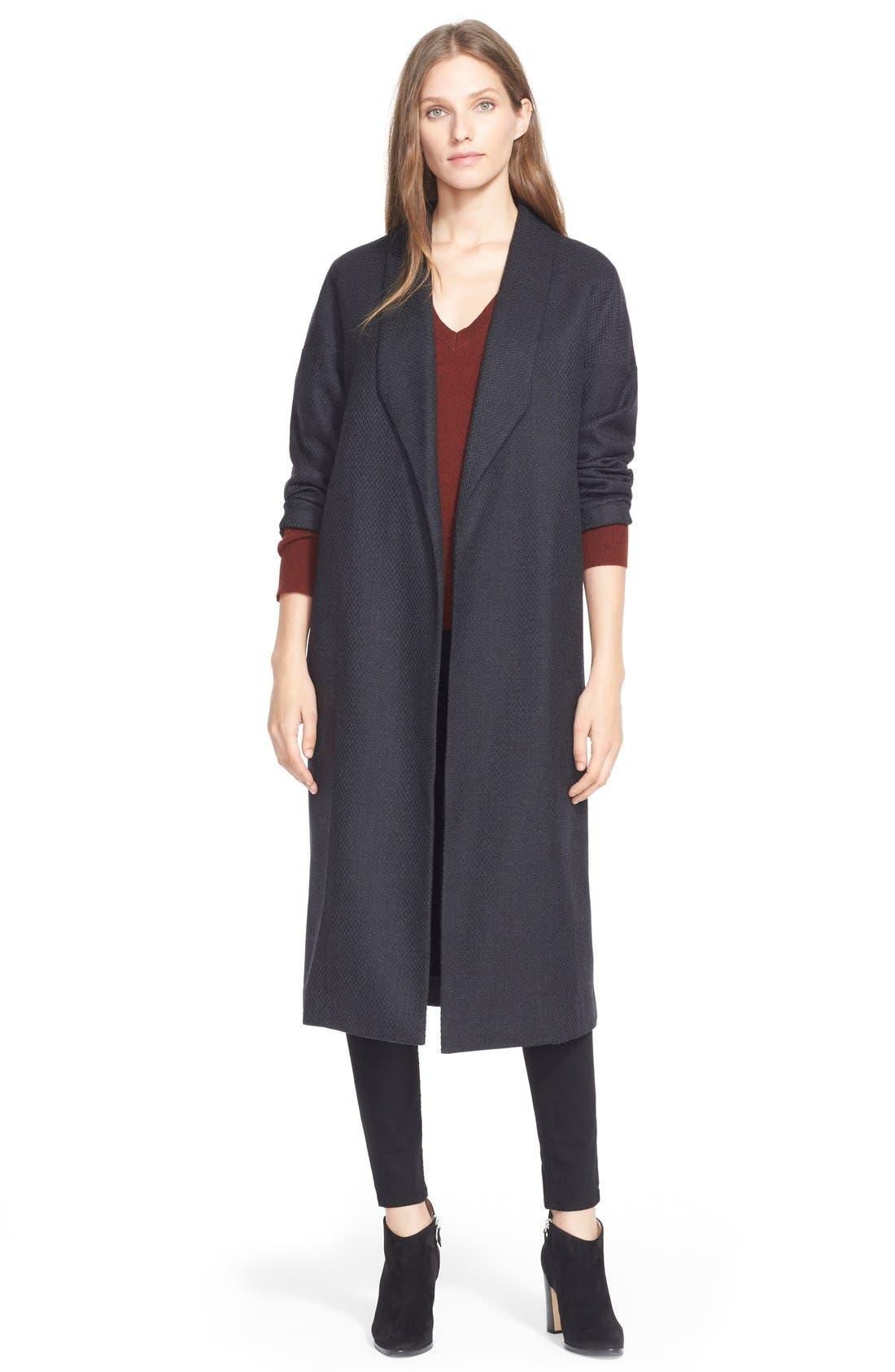 Alternate Image 1 Selected - AYR'The Robe' Wool Maxi Coat
