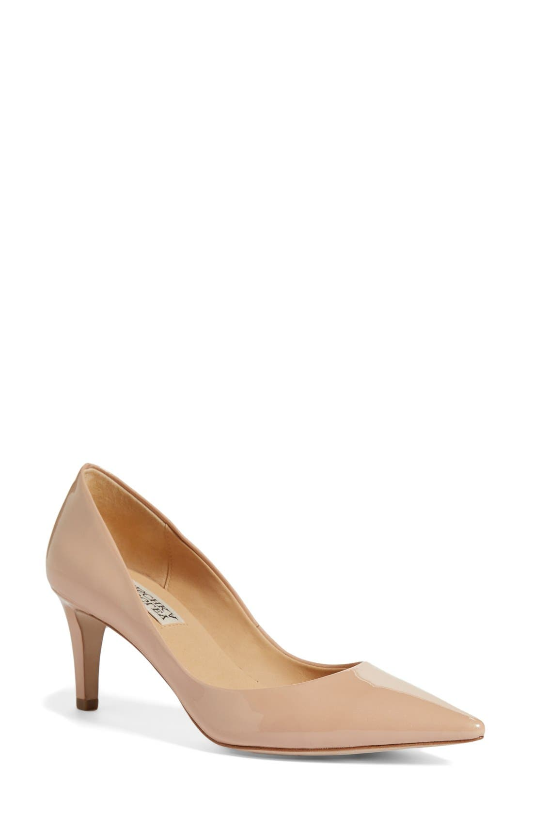 Alternate Image 1 Selected - Badgley Mischka 'Poise II' Pointy Toe Pump (Women)
