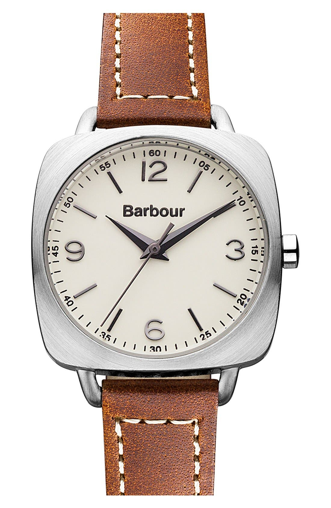 Alternate Image 1 Selected - Barbour 'Heritage' Strap Watch, 30mm x 30mm