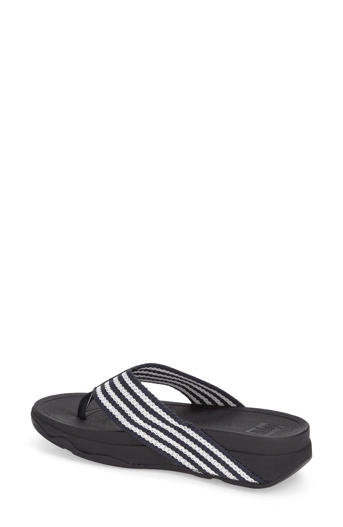 Alternate Image 2  - FitFlop™ 'Surfa' Thong Sandal (Women)