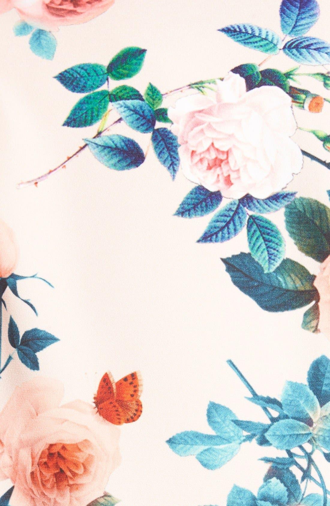 Alternate Image 4  - Mural Floral Print Blazer
