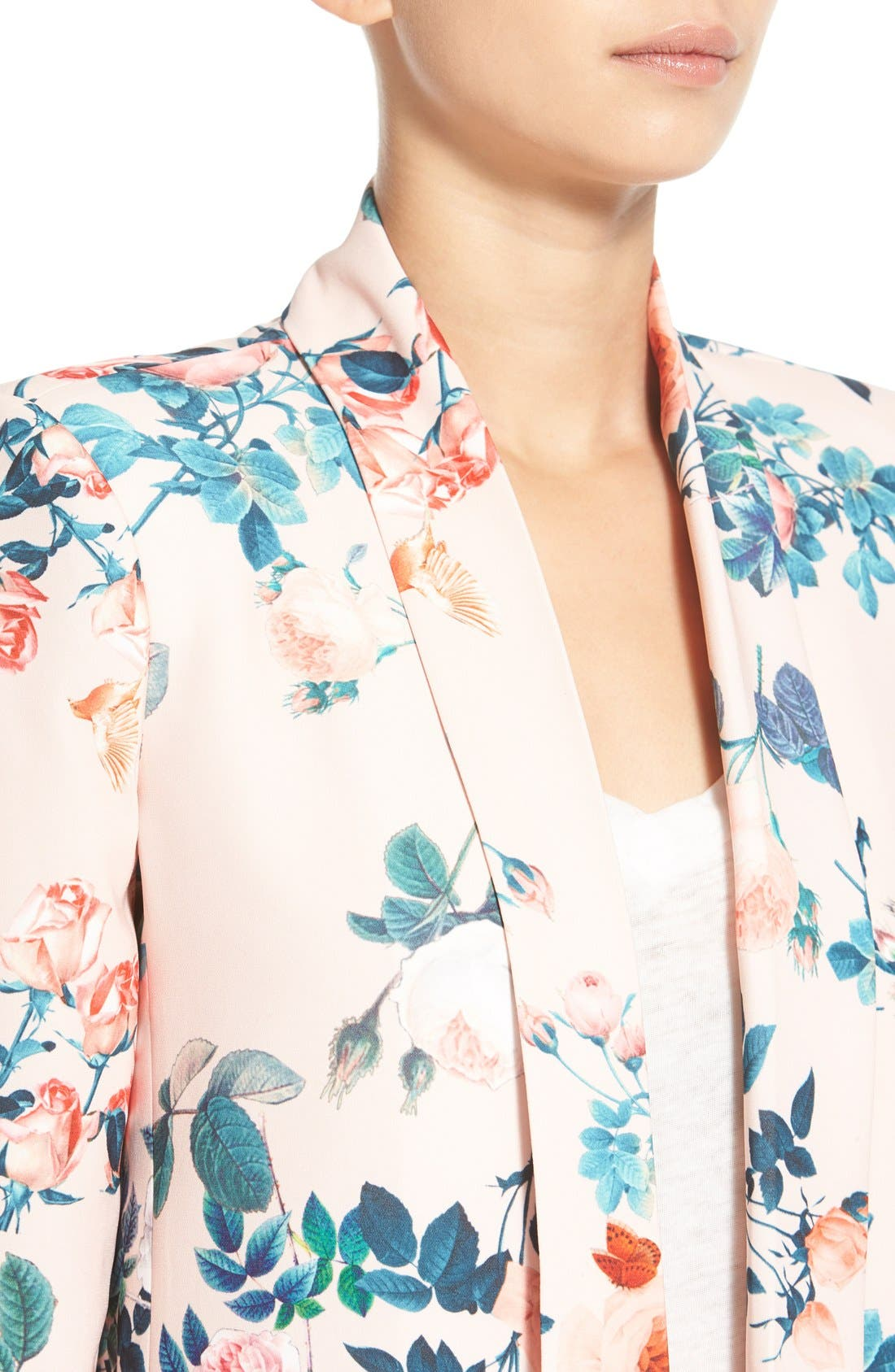 Alternate Image 5  - Mural Floral Print Blazer