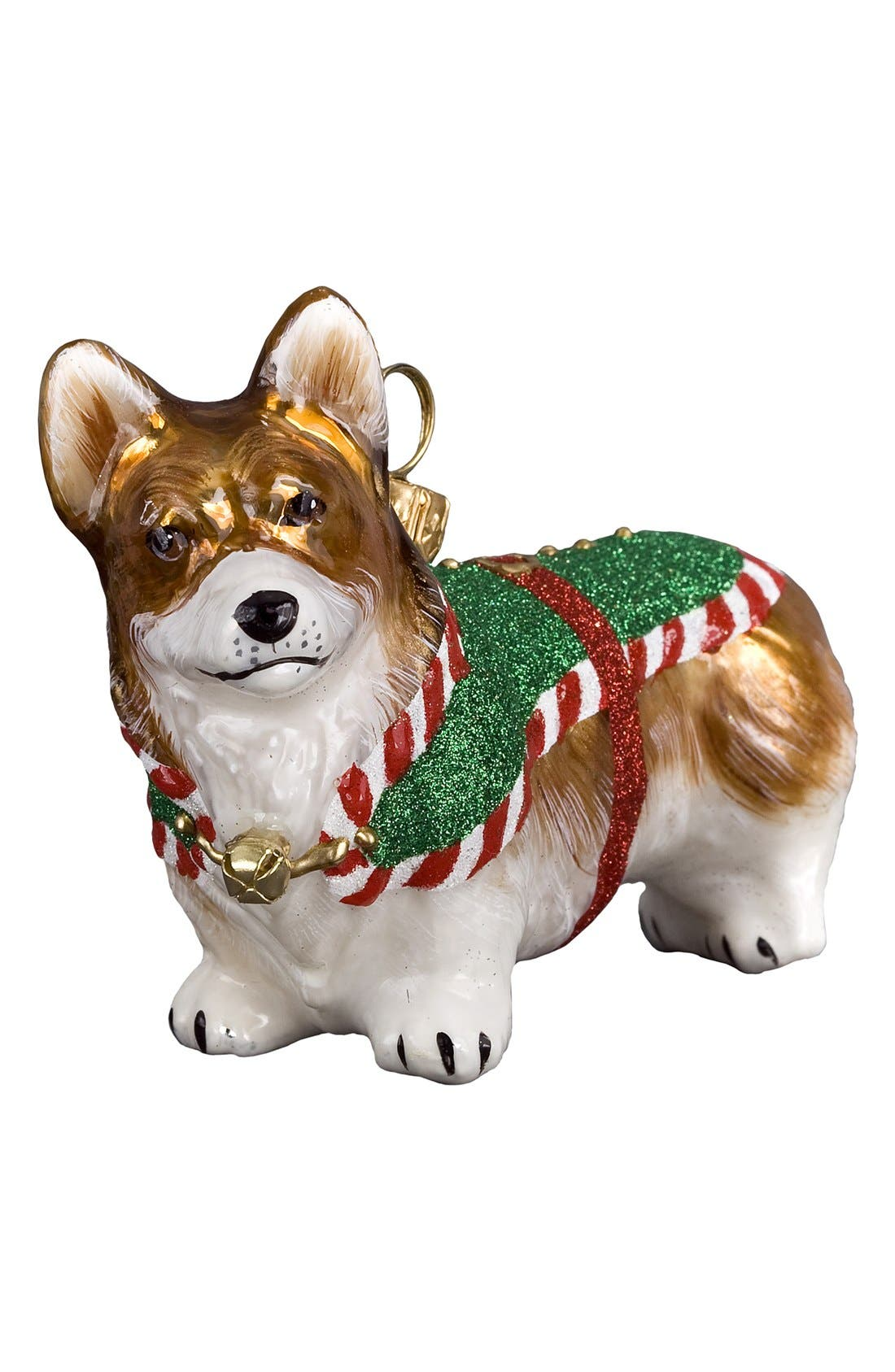 Alternate Image 1 Selected - Joy to the World Collectibles 'Santa's Little Yelper' Dog Ornament