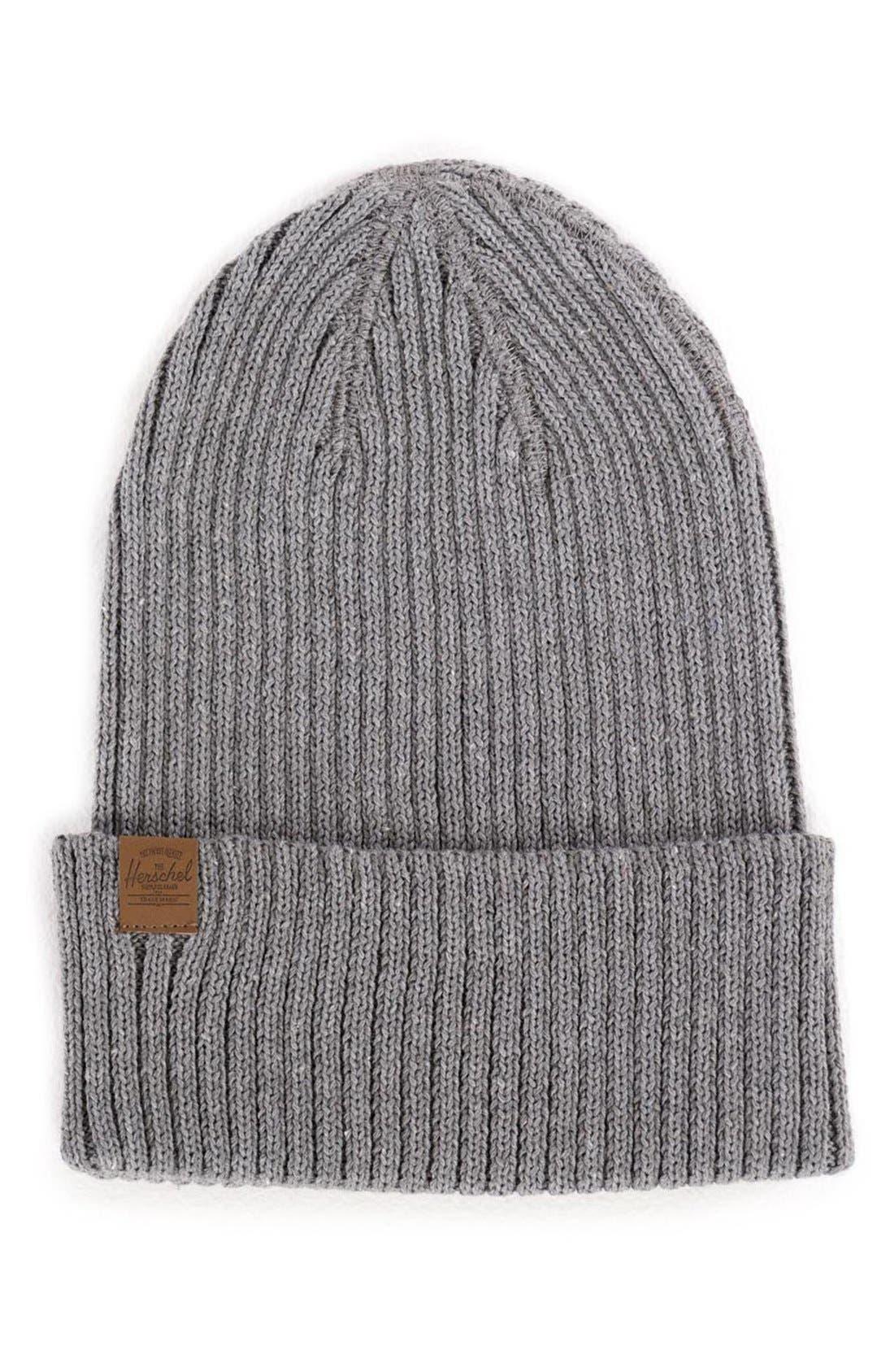 Alternate Image 1 Selected - Herschel Supply Co. 'Cast' Knit Cotton Beanie