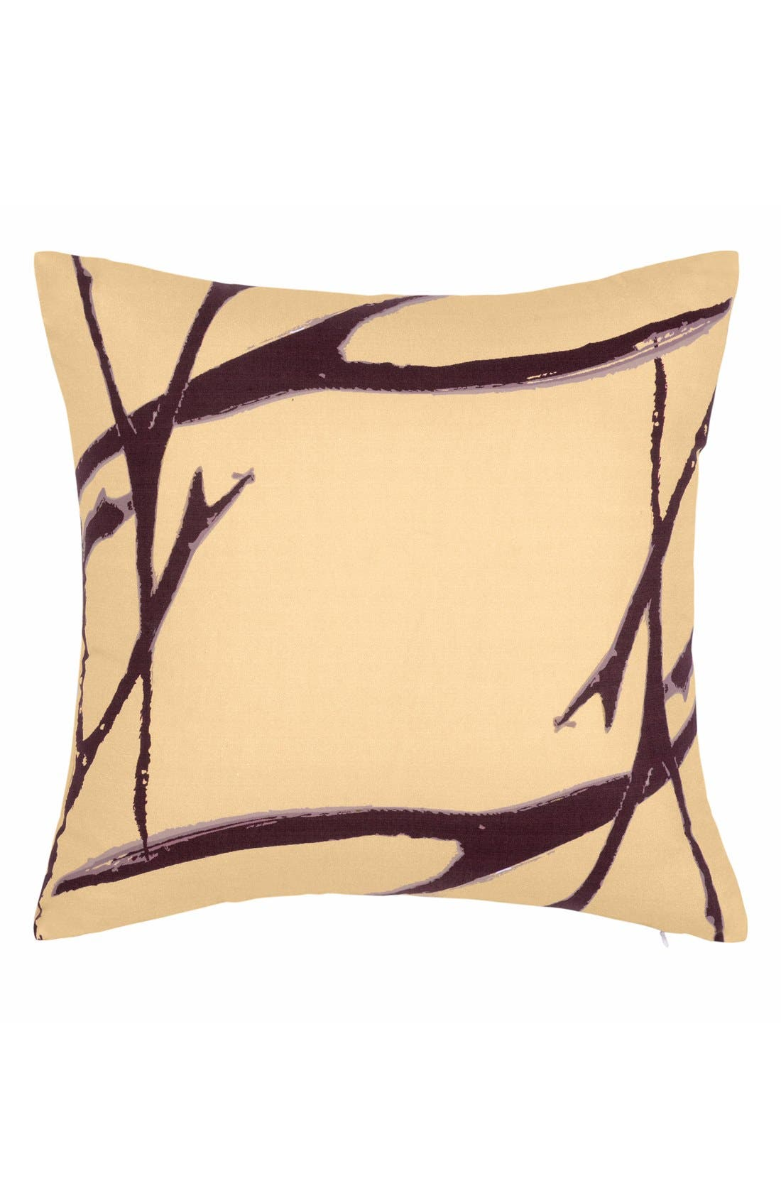 'Blossom Branches' Pillow,                         Main,                         color, Light Peach