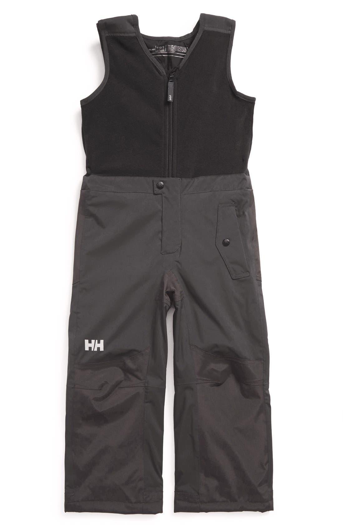 Alternate Image 1 Selected - HellyHansen 'K Powder' Insulated Bib(Toddler Boys & Little Boys)