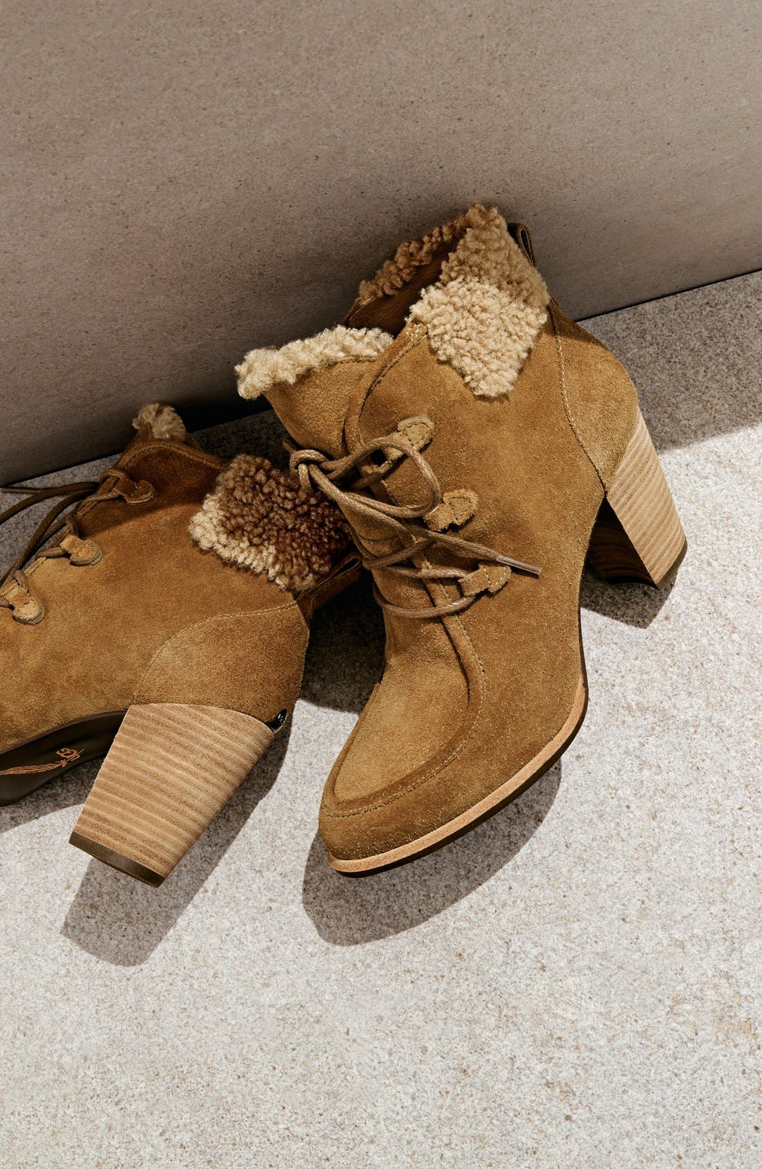 Alternate Image 6  - UGG® Australia 'Analise' Hiker Bootie (Women)