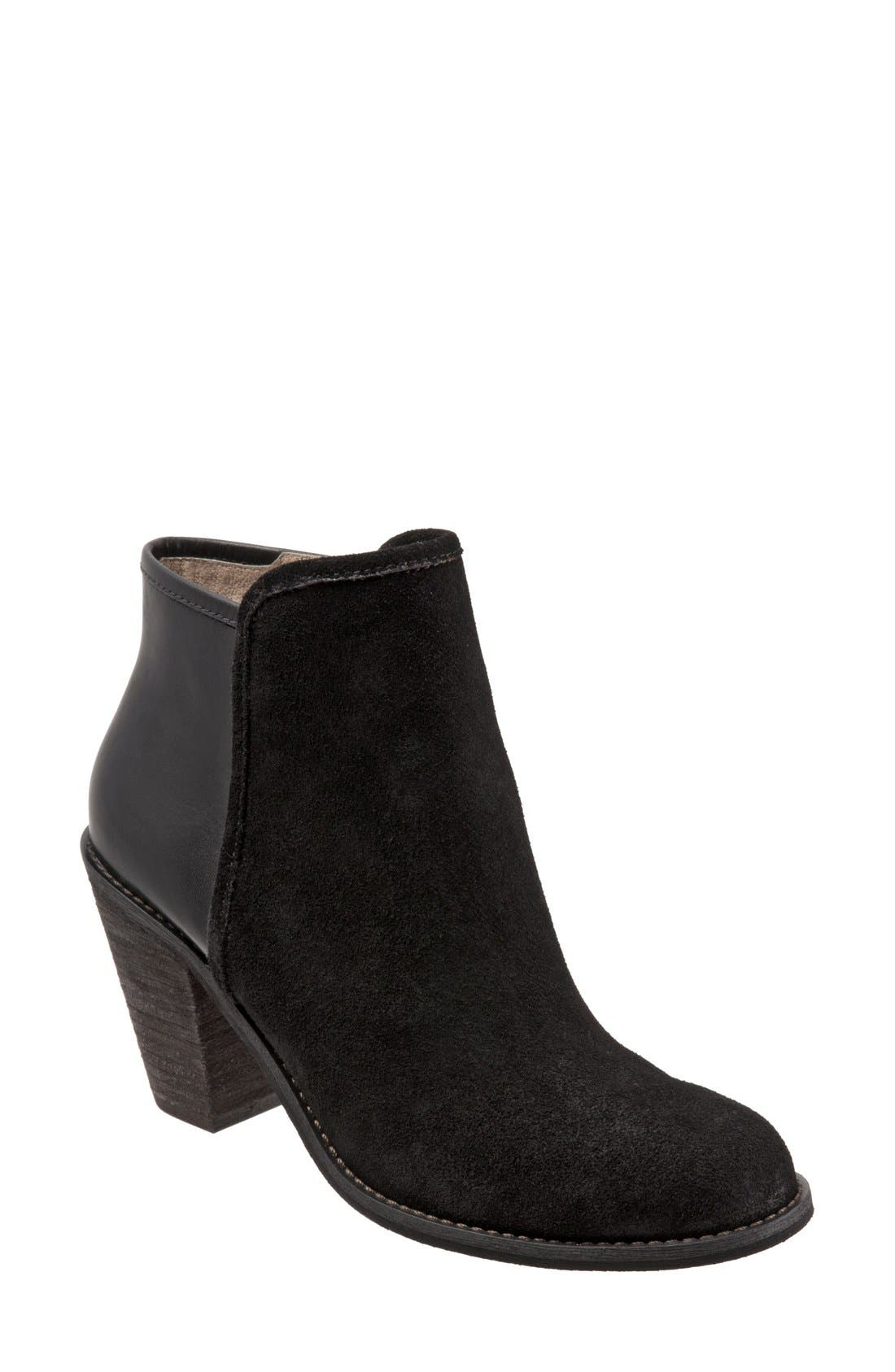 'Frontier' Bootie,                             Main thumbnail 1, color,                             Black