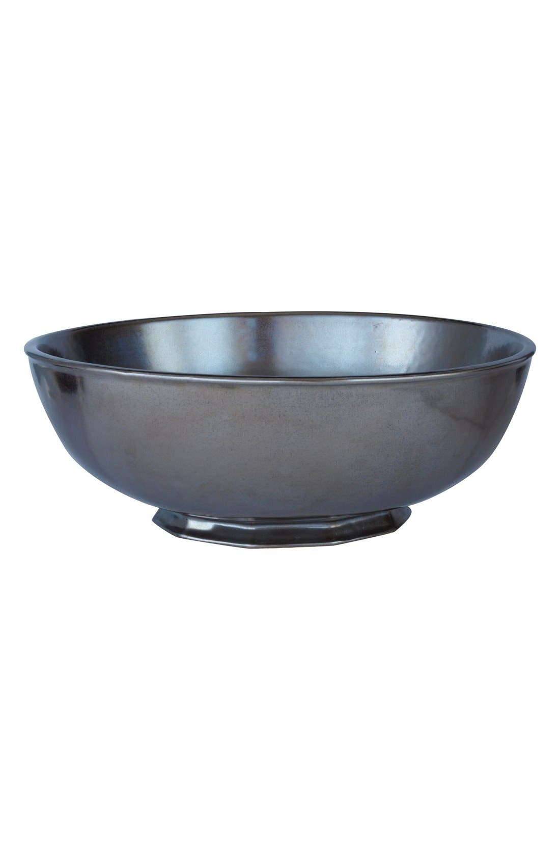 Alternate Image 1 Selected - Juliska Pewter Stoneware Serving Bowl