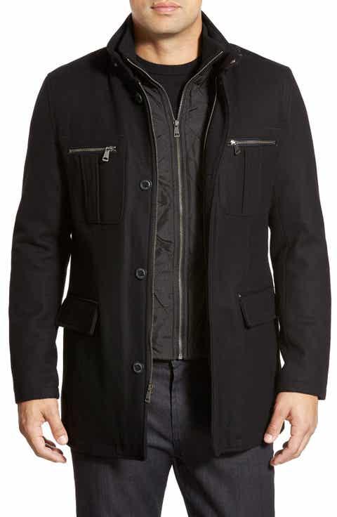 Men's Black Coats & Men's Black Jackets   Nordstrom