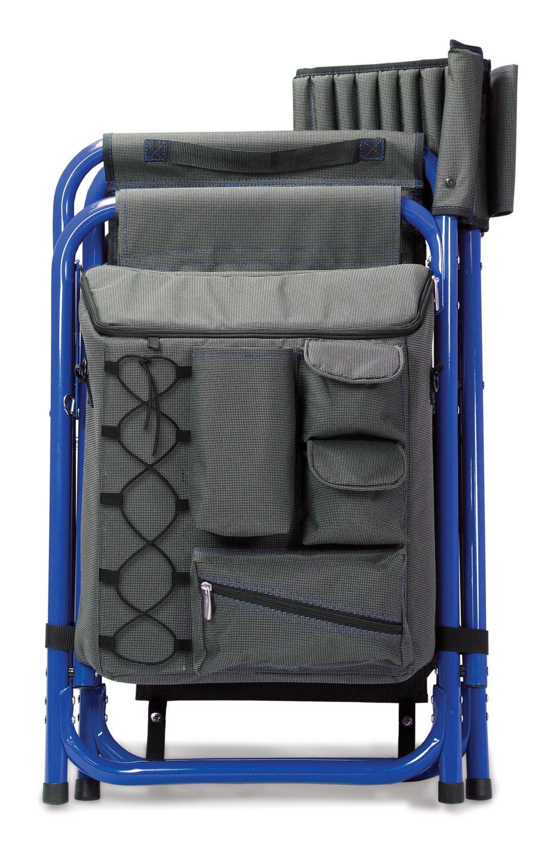 'Fusion' Lawn Chair,                             Alternate thumbnail 5, color,                             Blue