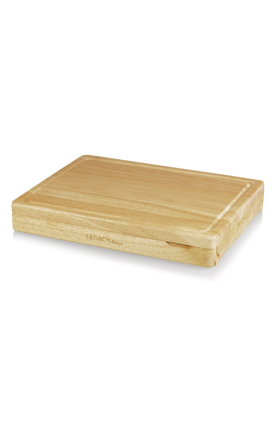 'Asiago' Cutting Board & Cheese Tools,                             Alternate thumbnail 2, color,                             Brown