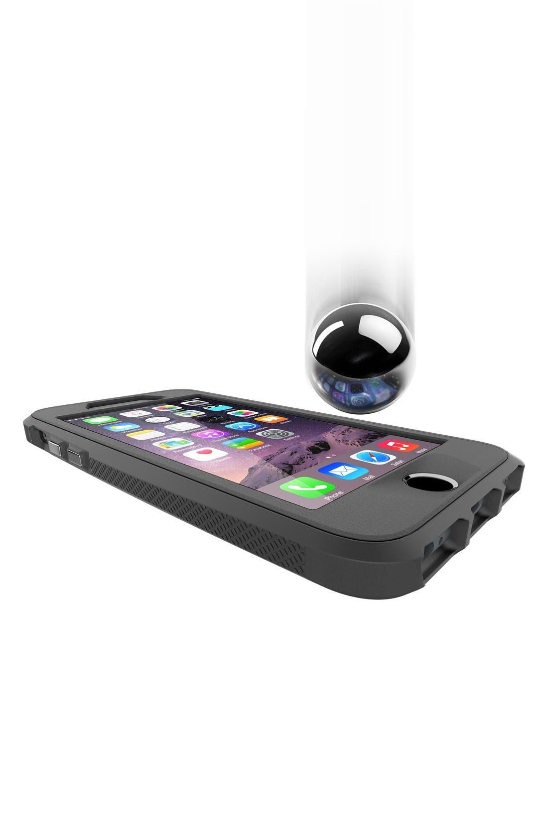 Atmos X4 iPhone 6 Plus/6s Plus Case,                             Alternate thumbnail 3, color,                             Black