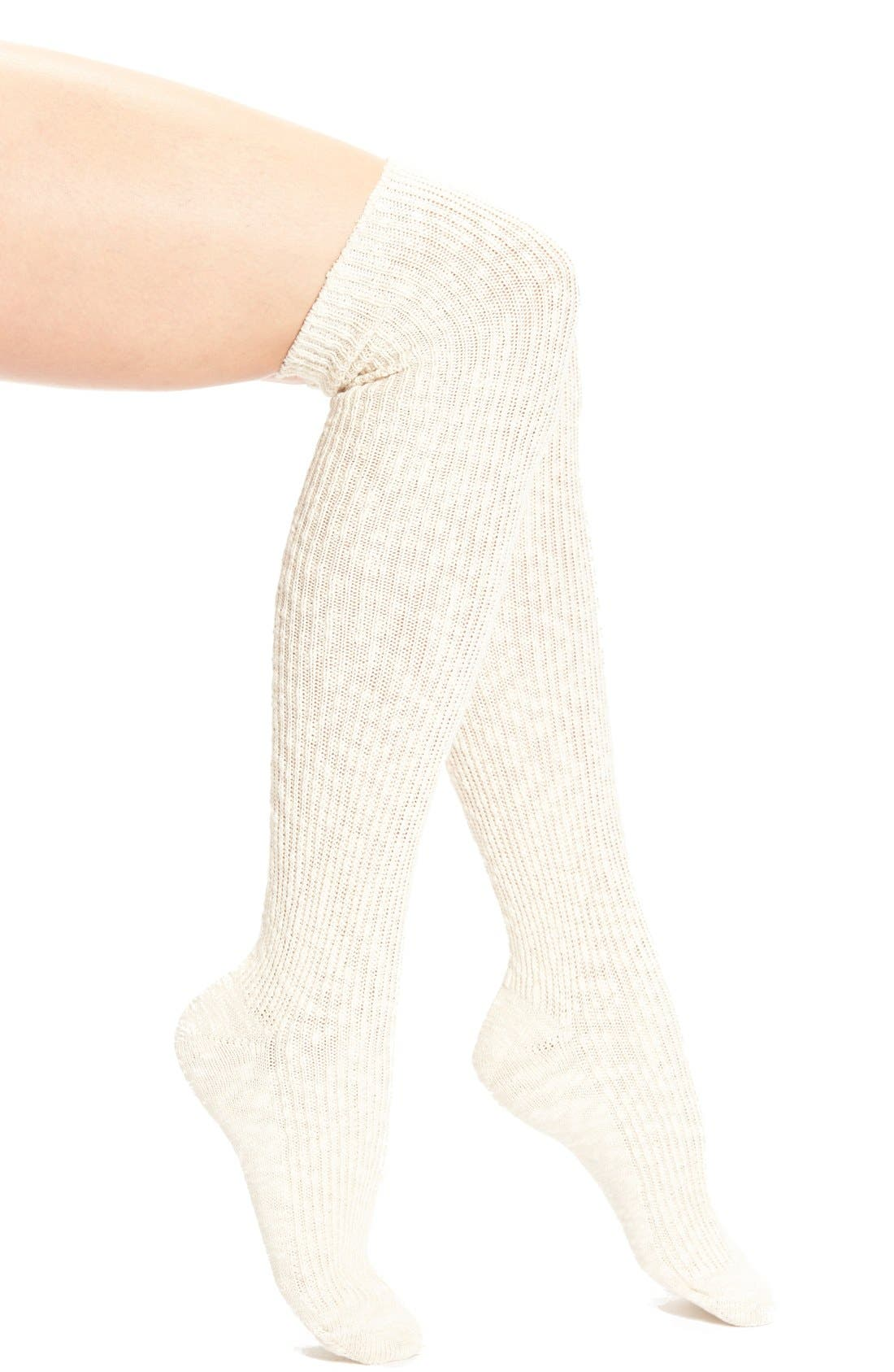 Main Image - Nordstrom Marled Over the Knee Socks
