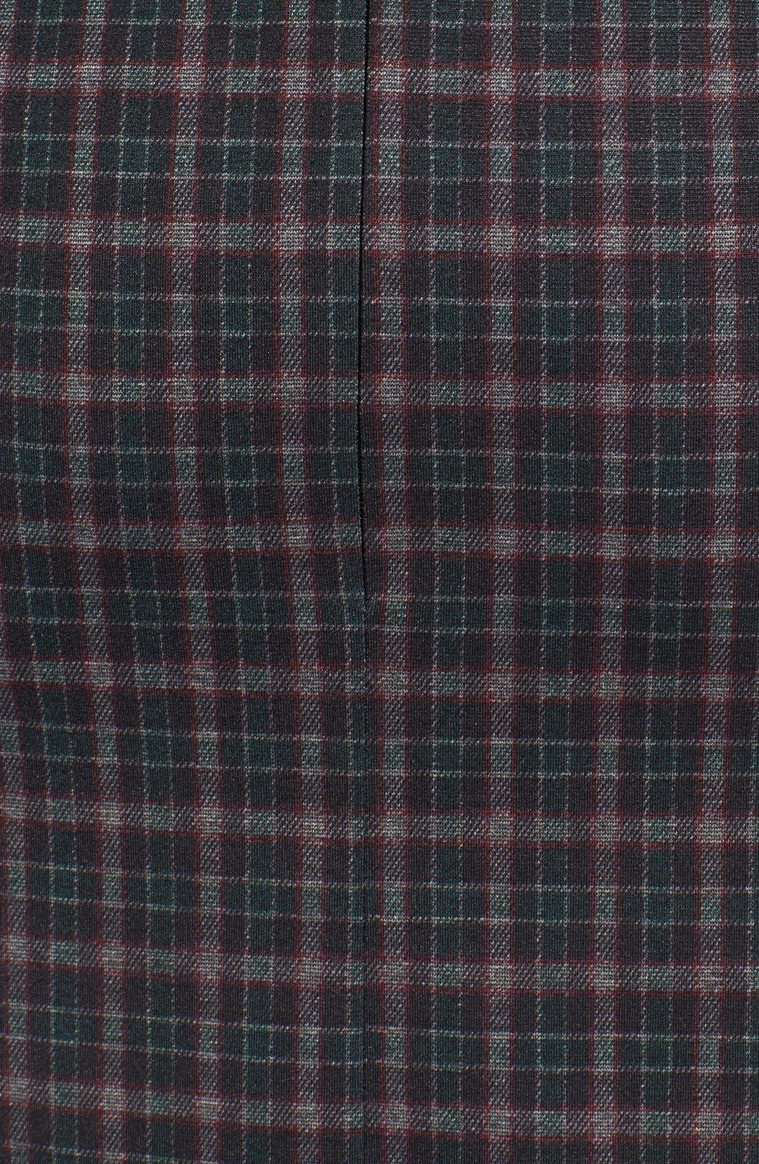 Alternate Image 5  - Fire Asymmetrical HemPlaid Skirt