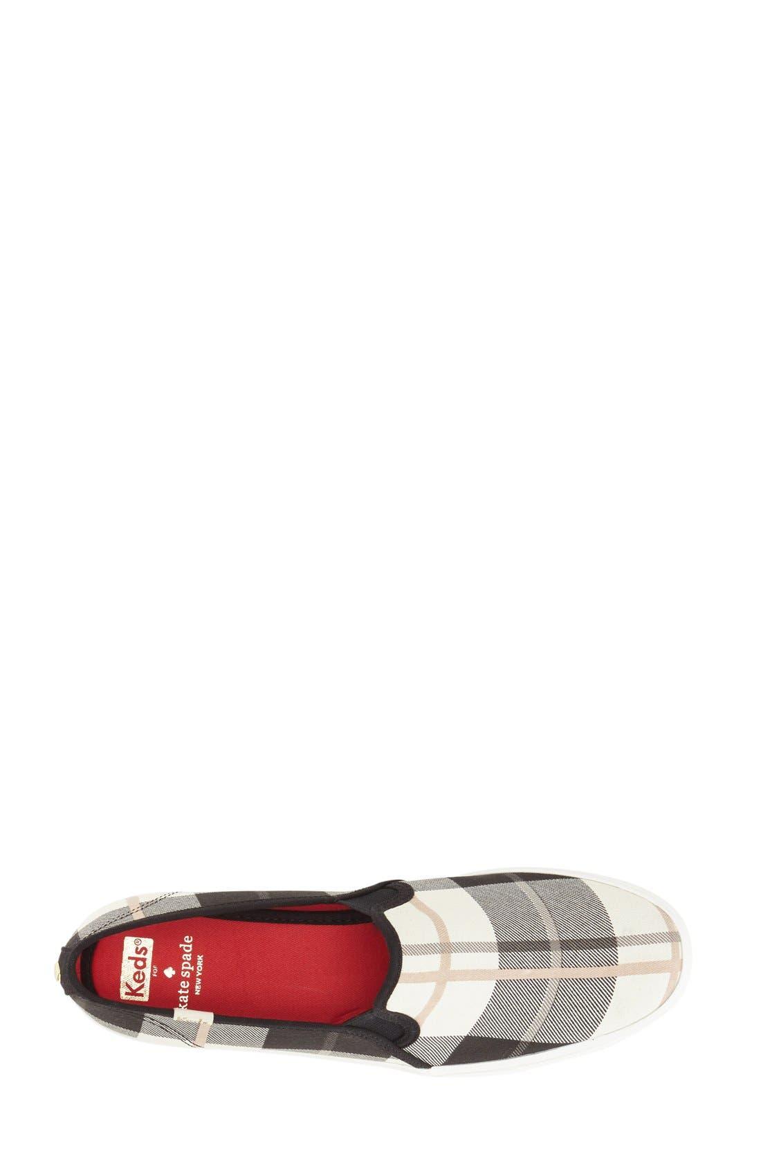 Alternate Image 3  - Keds® for kate spade new york 'decker' slip-on sneaker (Women)