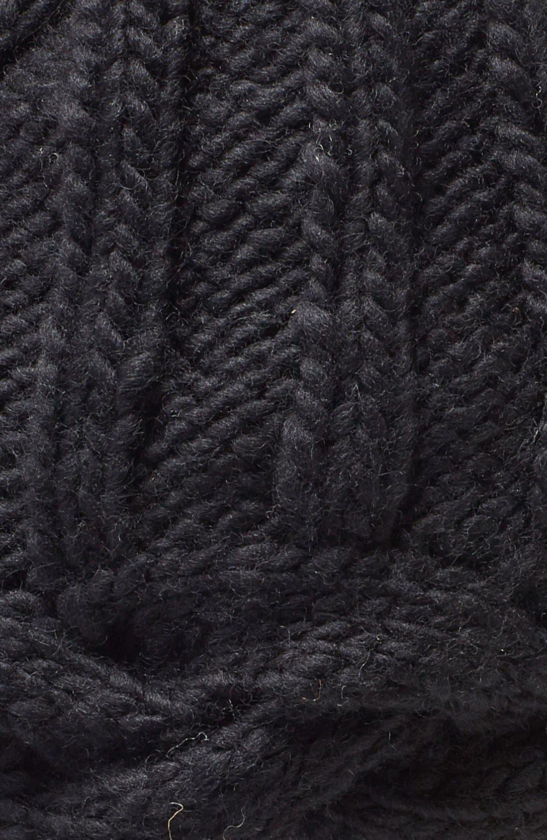 Alternate Image 2  - Nirvanna Designs Braided Edge Knit Beanie