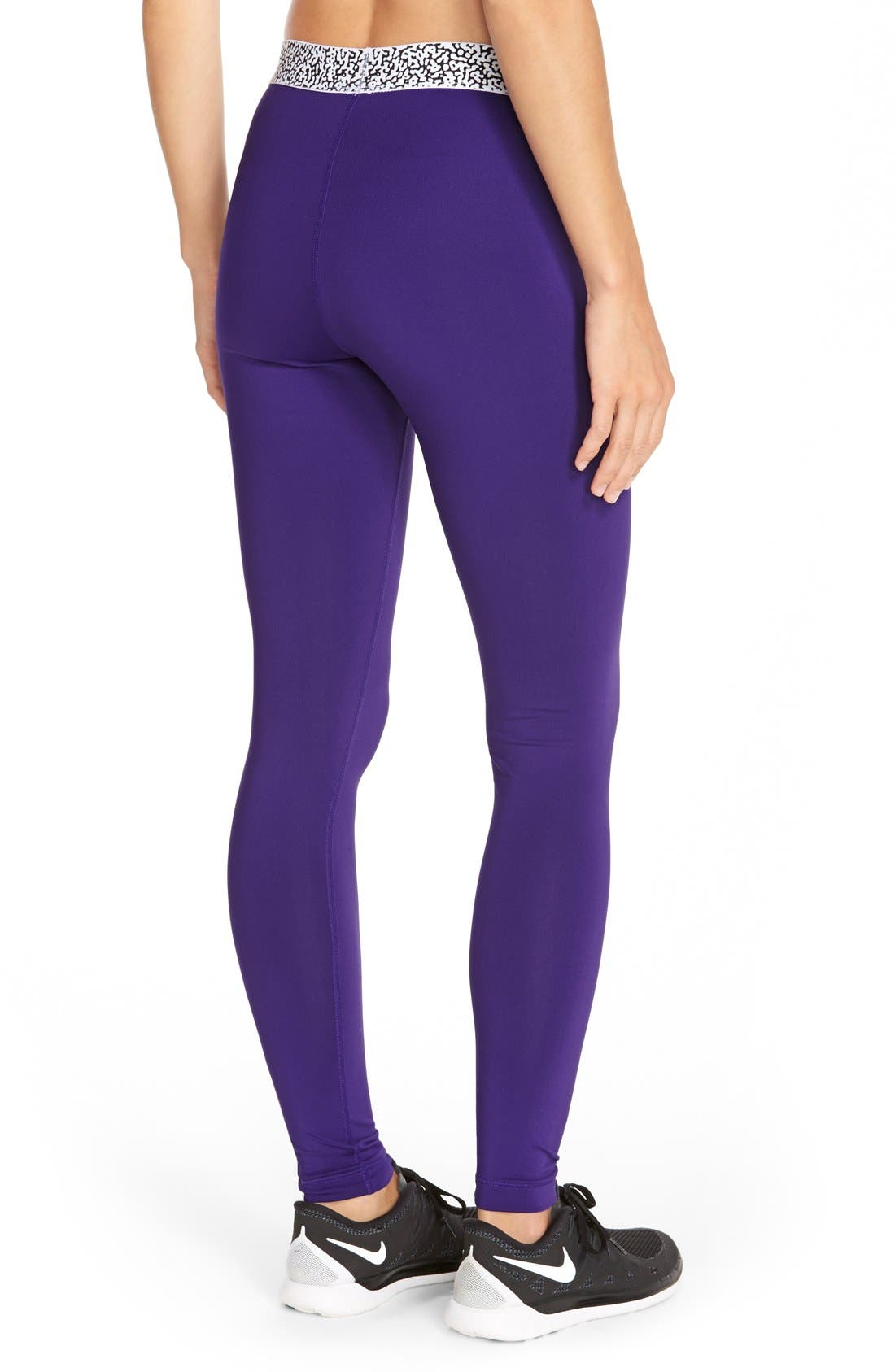 Alternate Image 2  - Nike 'Pro Hyperwarm' Mezzo Compression Tights