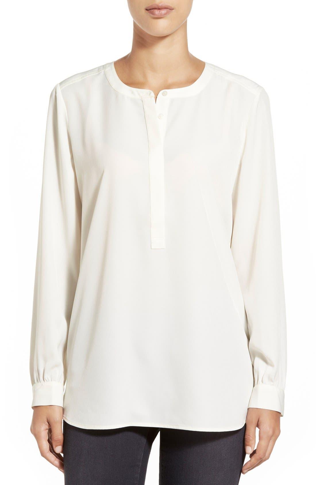 Main Image - NYDJ Woven Tunic Top (Regular & Petite)