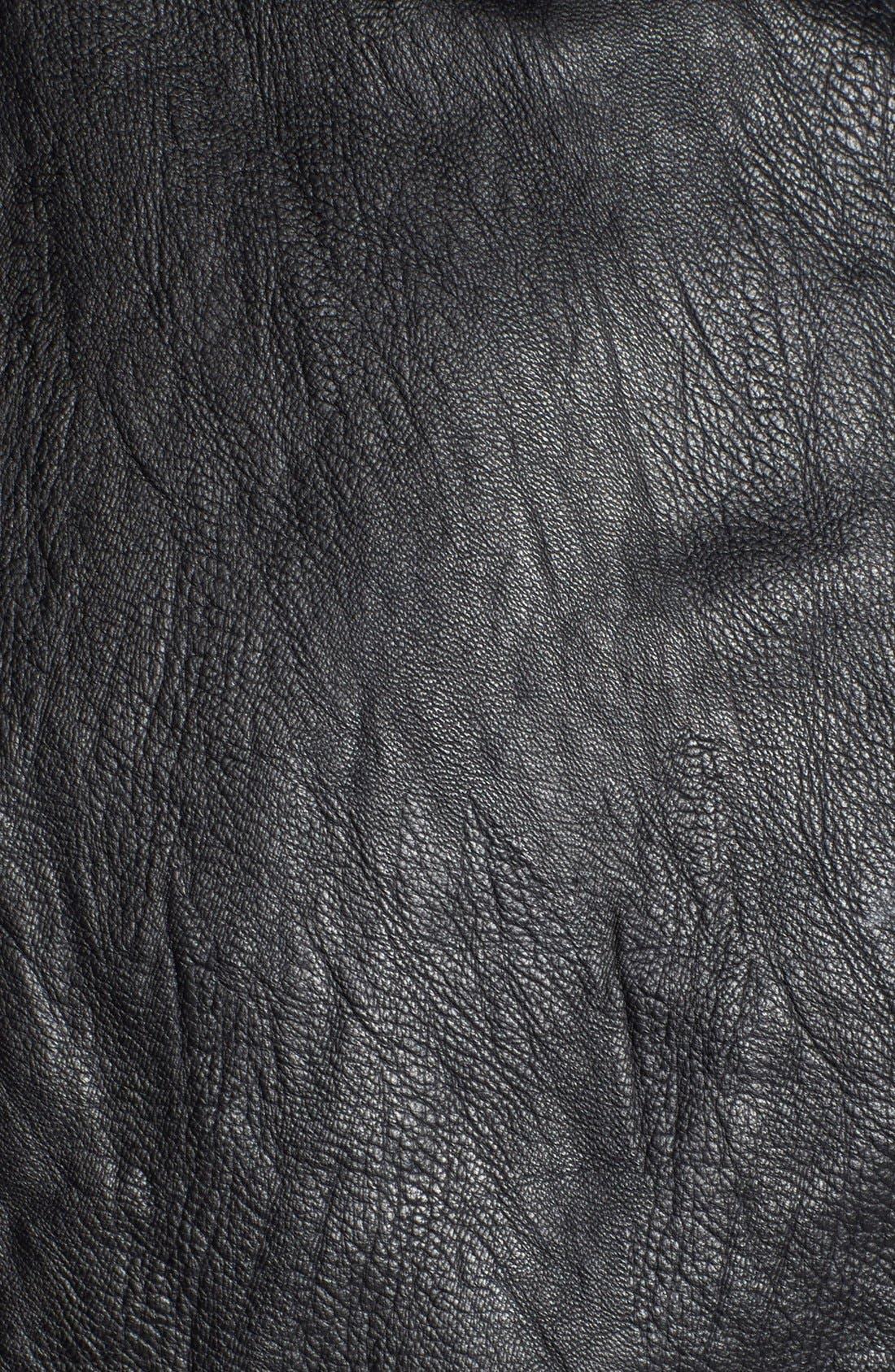 Alternate Image 6  - Sun & Shadow Faux Leather Moto Jacket