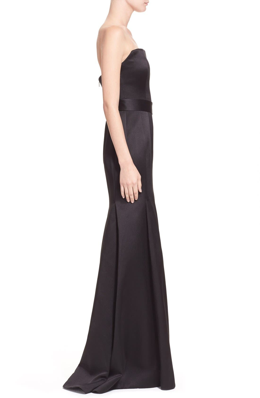 Alternate Image 4  - Jason Wu 'Reese' Strapless Satin Twill Gown