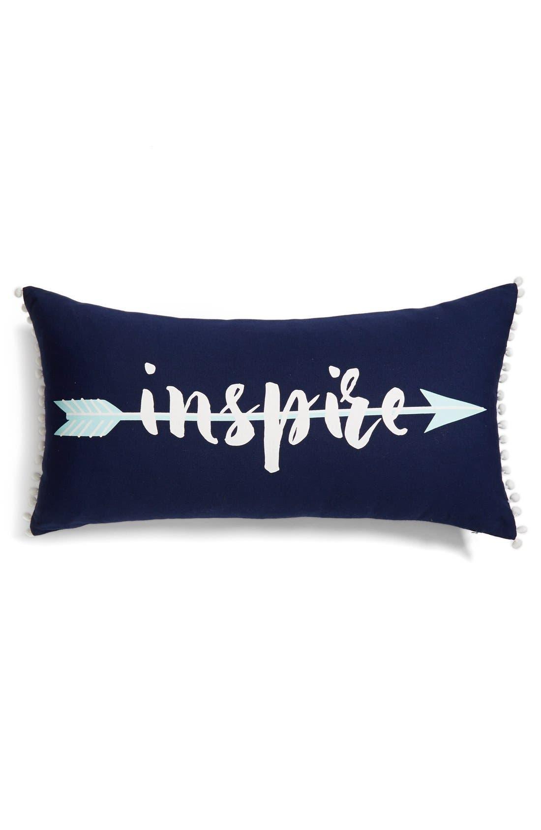 Alternate Image 1 Selected - Levtex 'Inspire' Pom Pom Pillow