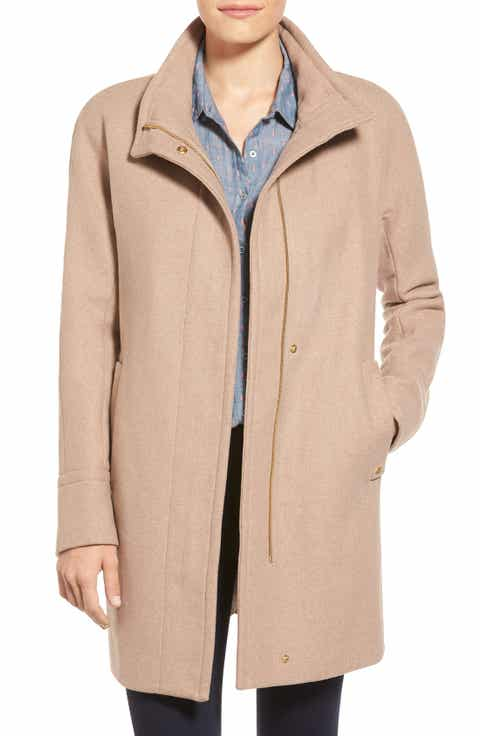 Women's Beige Wool & Wool-Blend Coats | Nordstrom