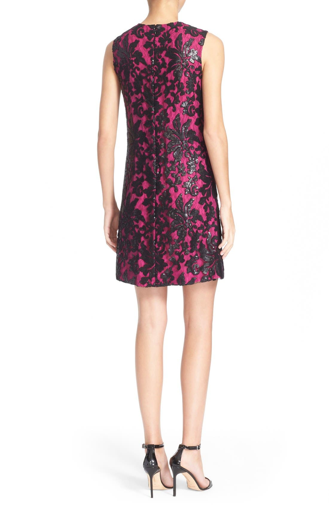 Alternate Image 2  - Diane von Furstenberg 'Kaleb' Embellished Lace Sheath Dress