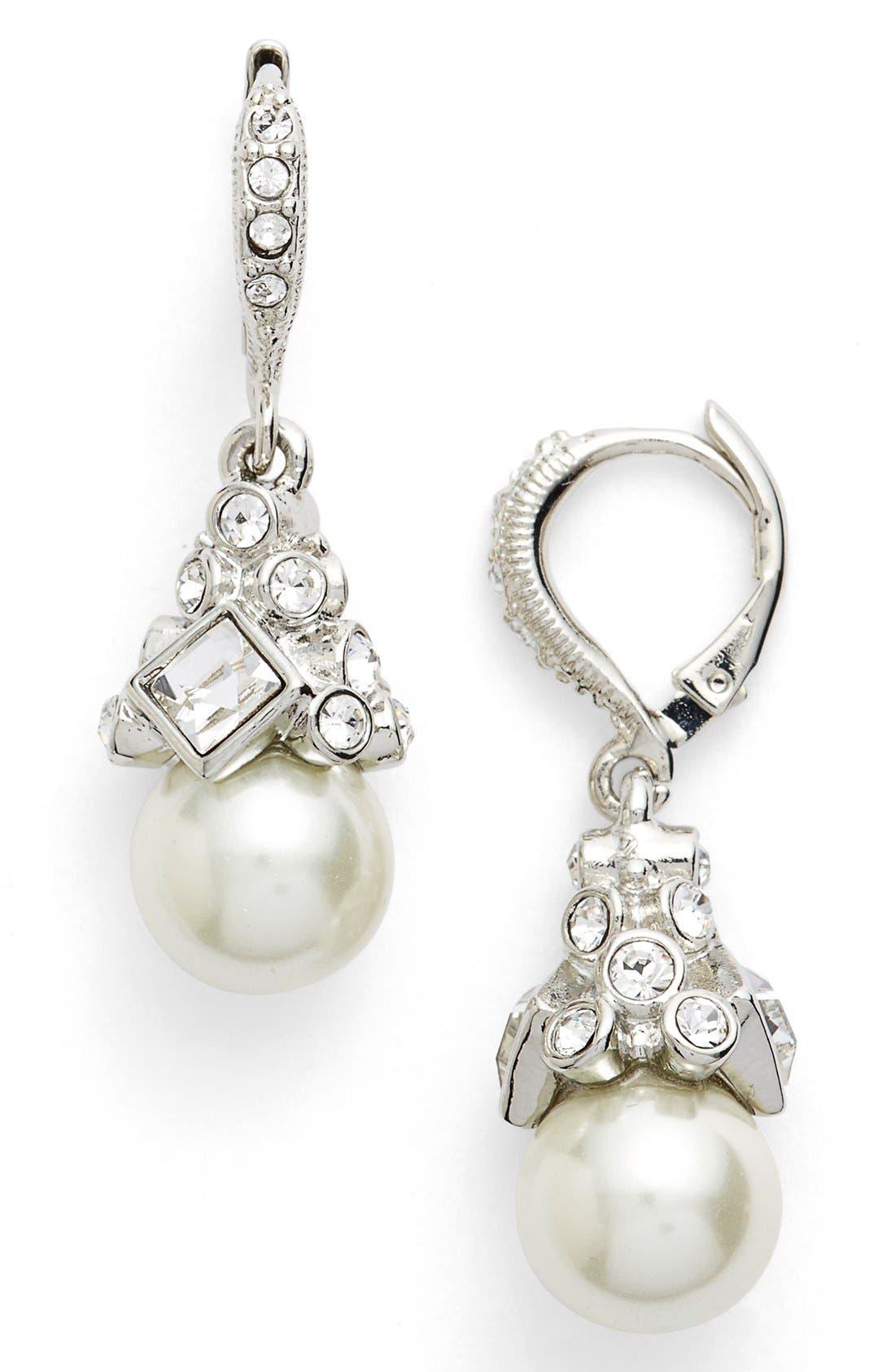 Main Image - Givenchy Imitation Pearl Drop Earrings