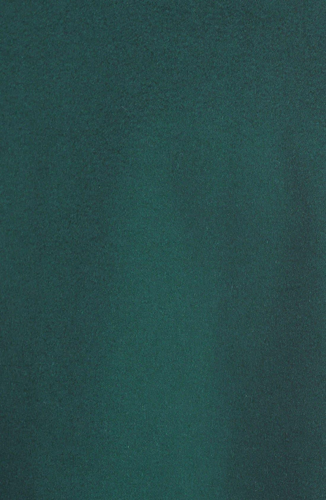 Alternate Image 3  - Diane von Furstenberg 'Harlow' Drape Collar Wool Blend Wrap Coat
