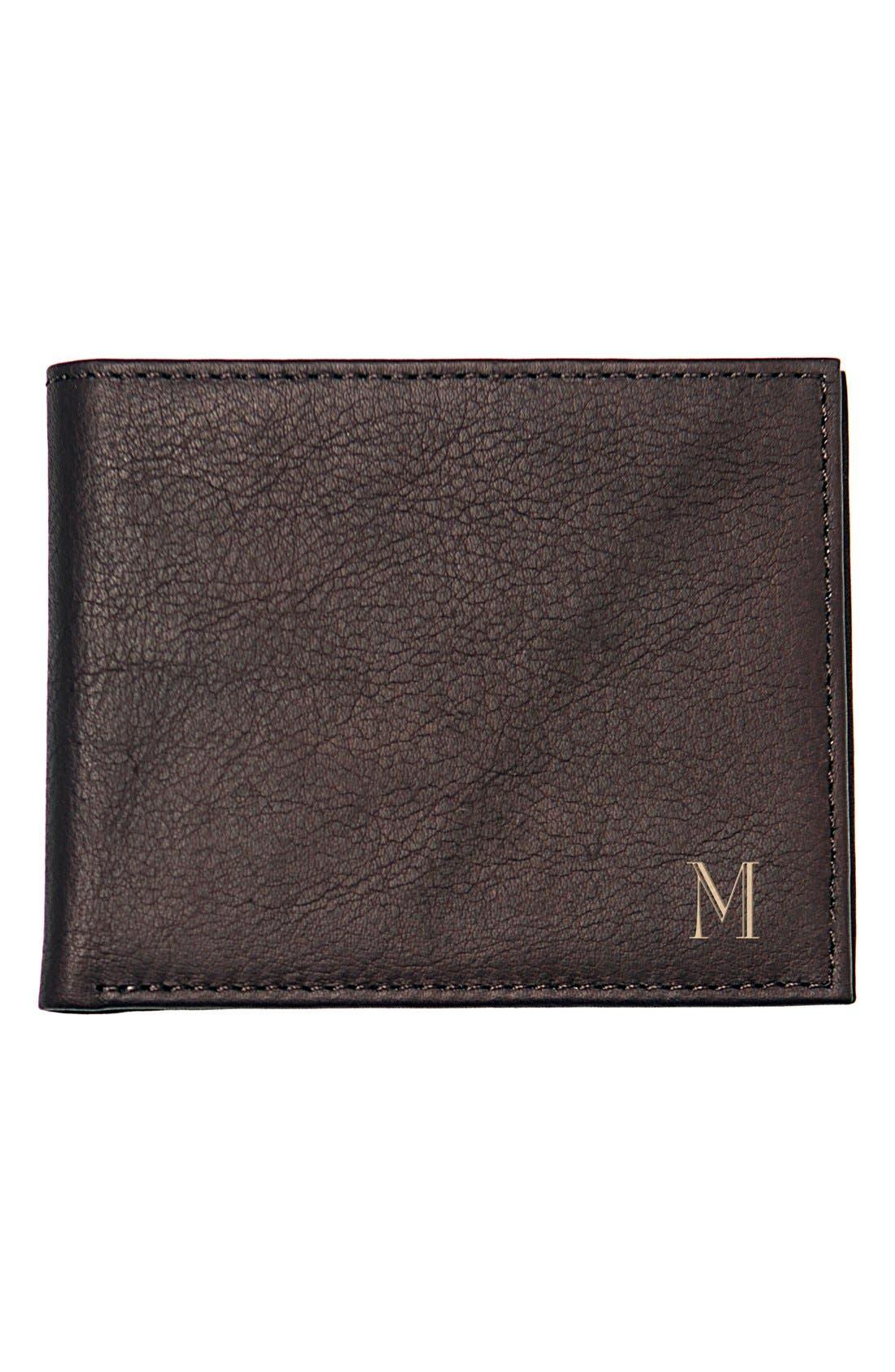 Monogram Bifold Wallet,                         Main,                         color, Brown - M