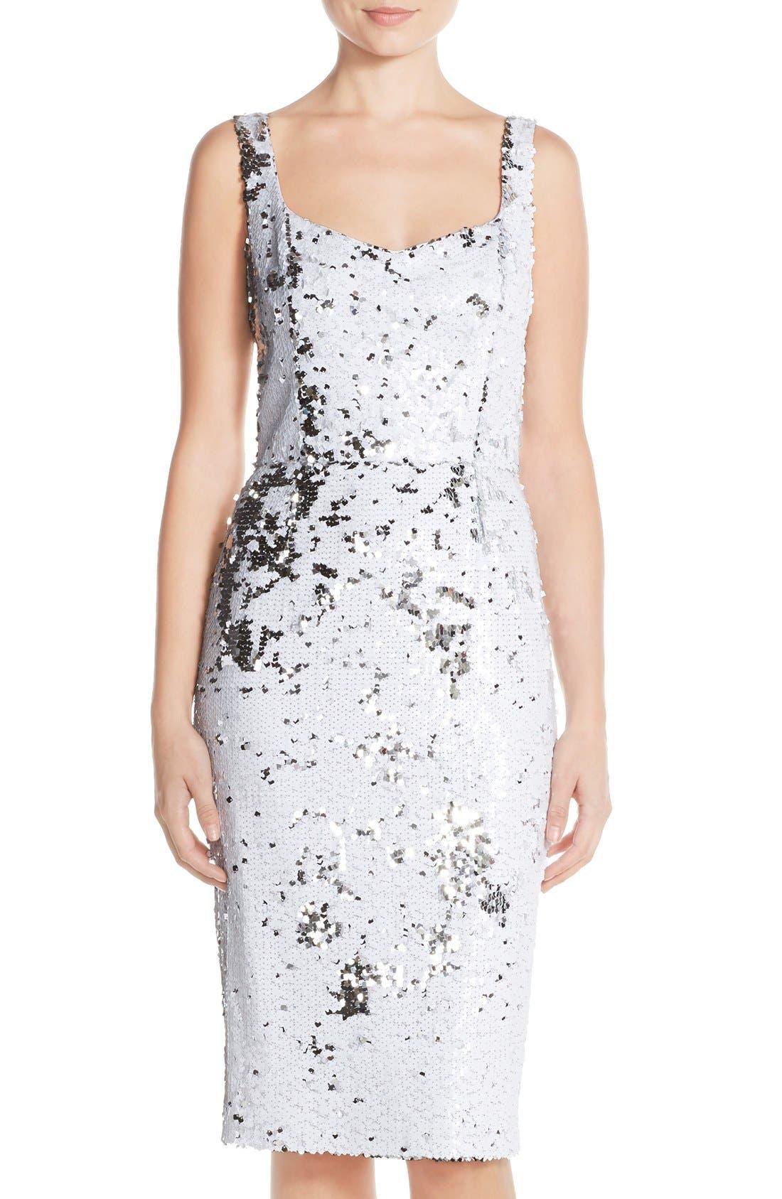 Alternate Image 1 Selected - Jay Godfrey 'Moncton' Sequin Sheath Dress
