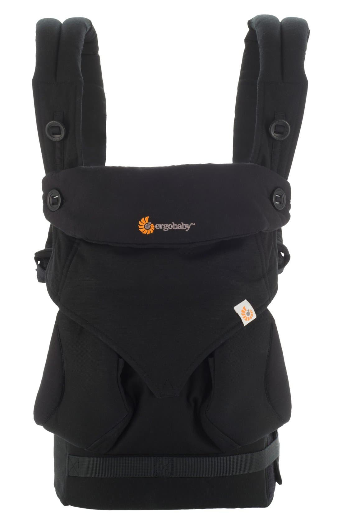 '360' Baby Carrier,                             Main thumbnail 1, color,                             Black