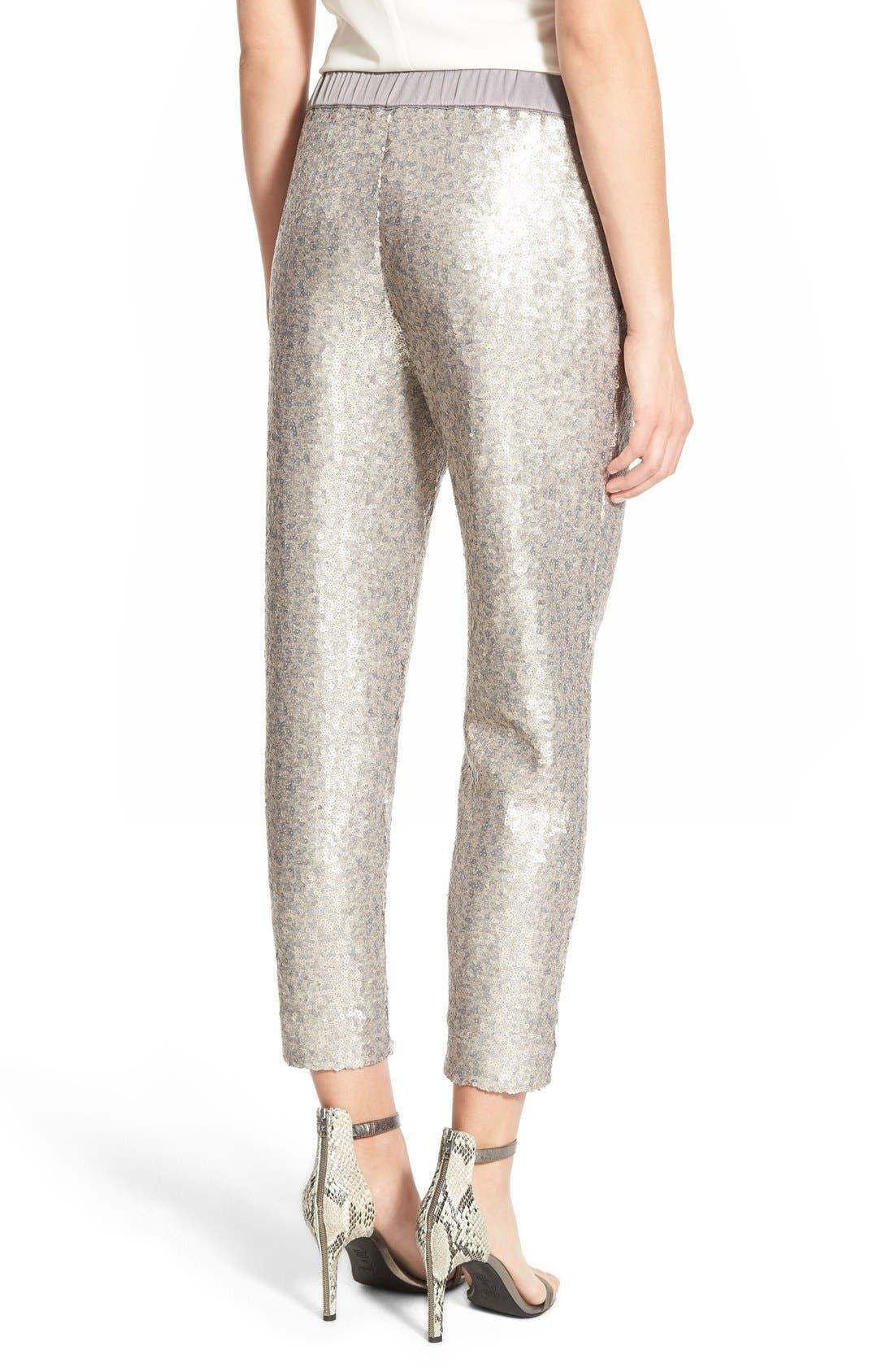 Alternate Image 3  - Chelsea28 Sequin Pants