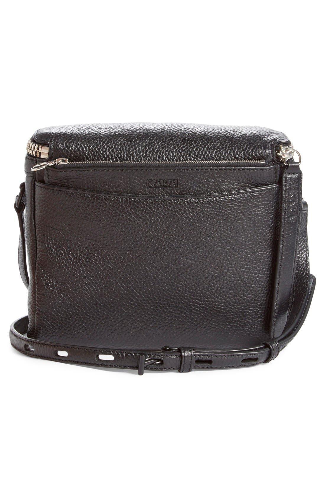 Alternate Image 3  - KARA Large Stowaway Leather Crossbody Bag