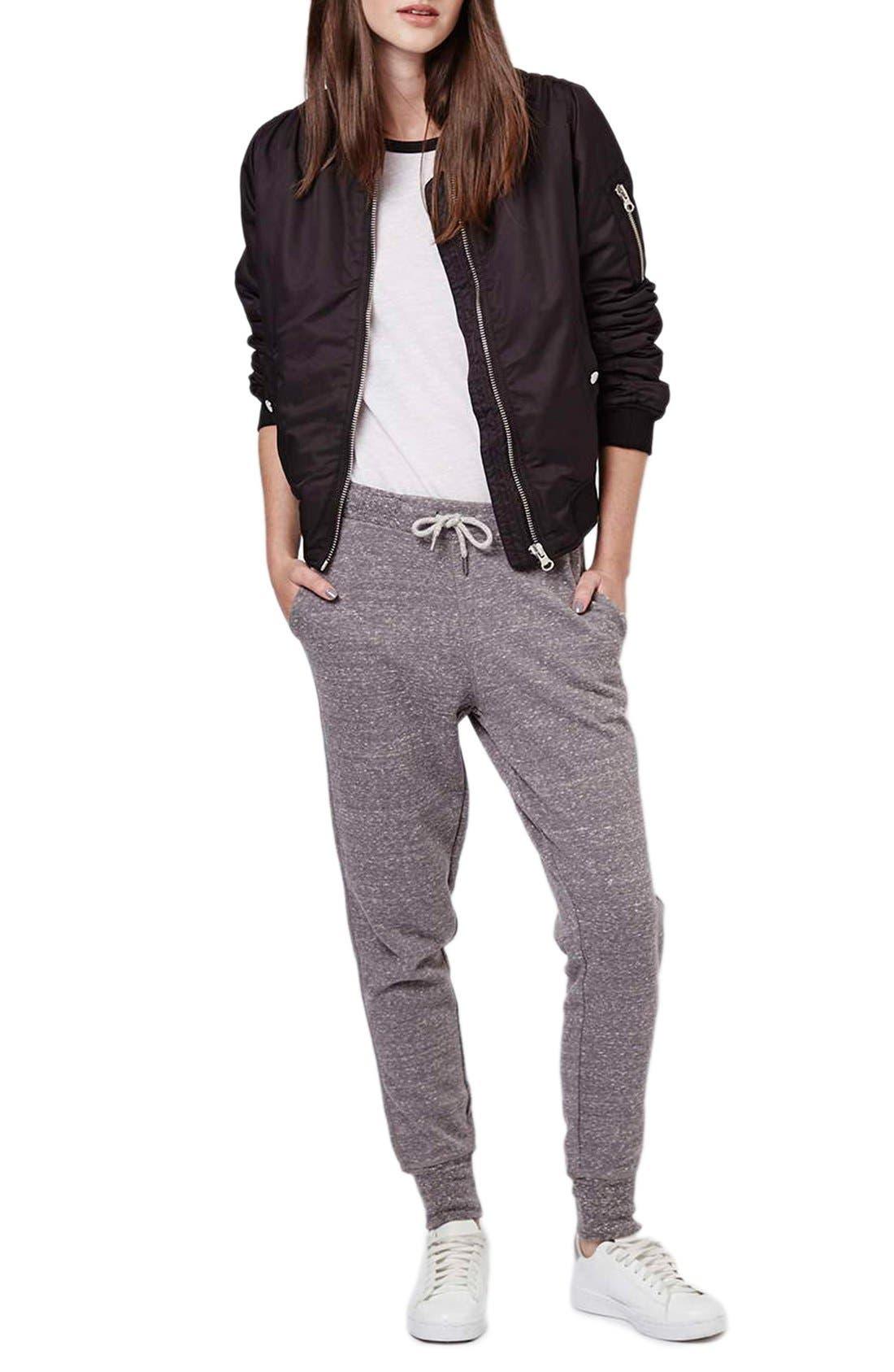Alternate Image 2  - Topshop Skinny Fit Jogger Pants