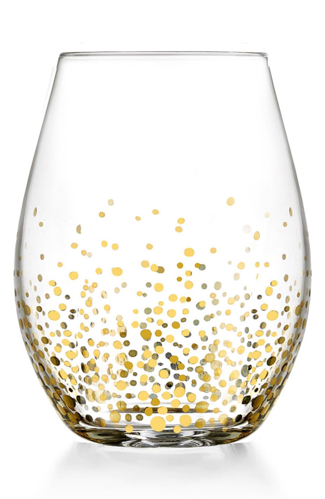 Daphne Set of 4 Stemless Wine Glasses,                         Main,                         color, Clear