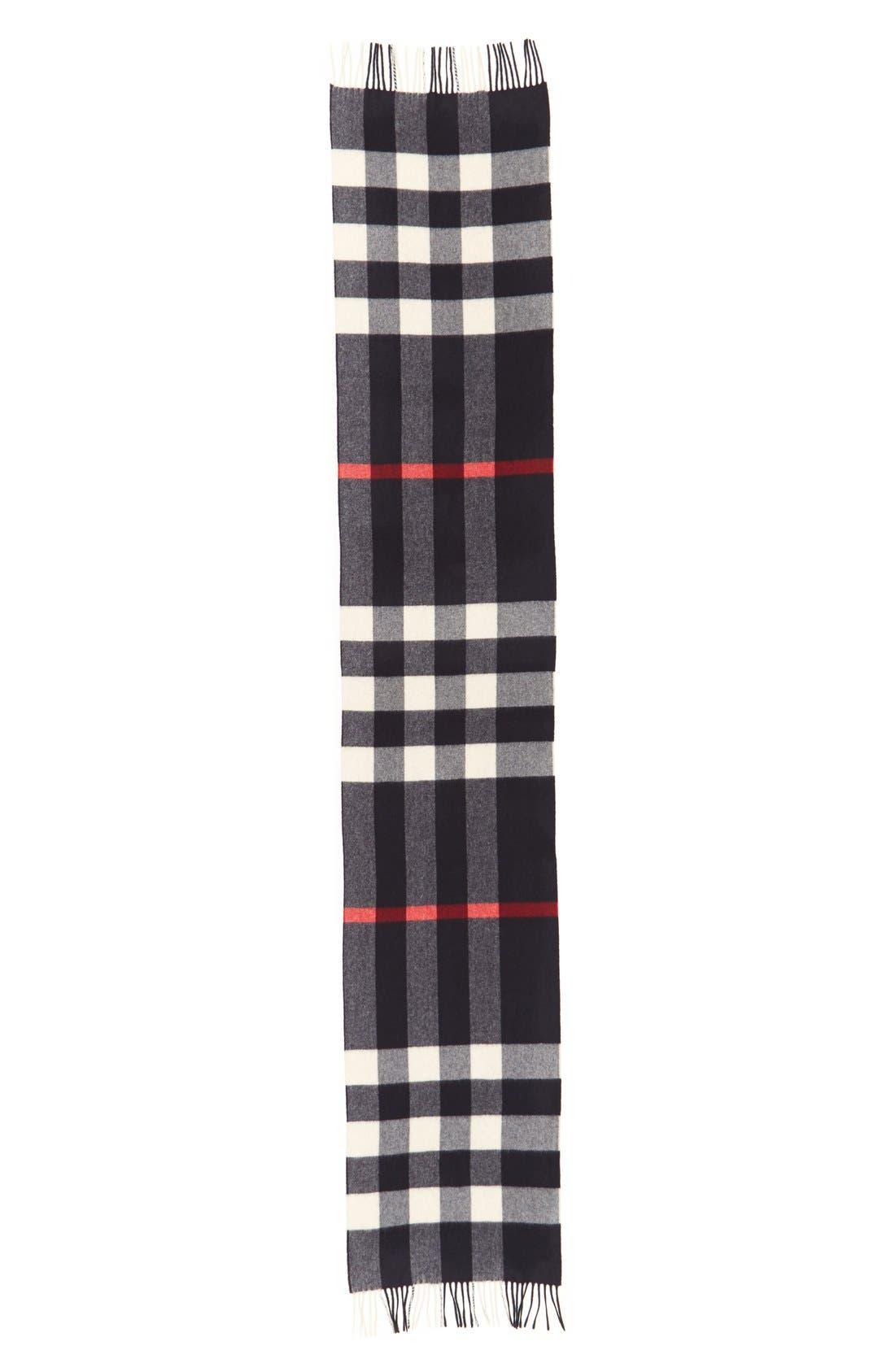 Alternate Image 2  - Burberry Cashmere Scarf