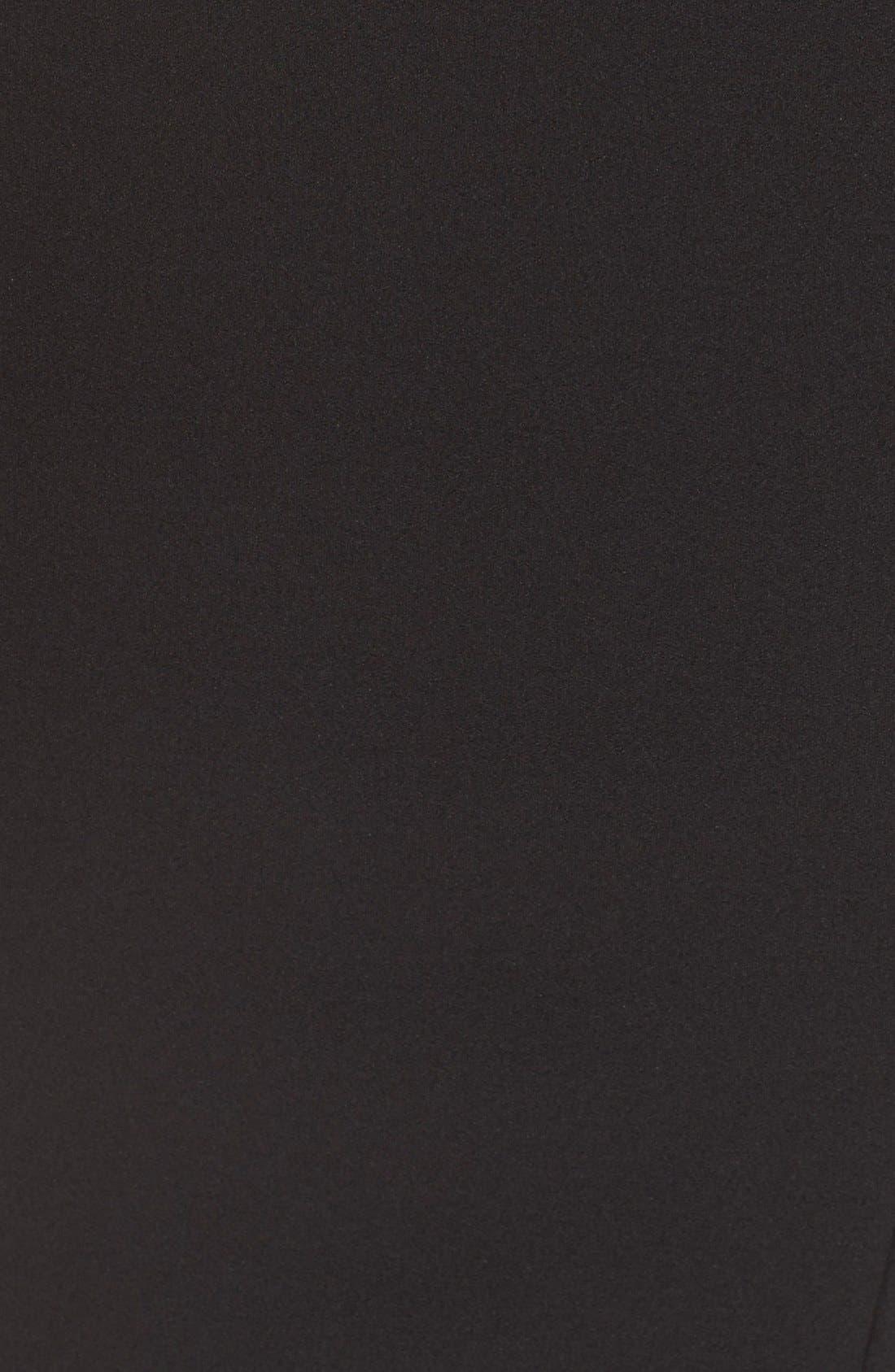 Alternate Image 6  - Misha Collection 'Aliza' Halter Jersey Sheath Dress