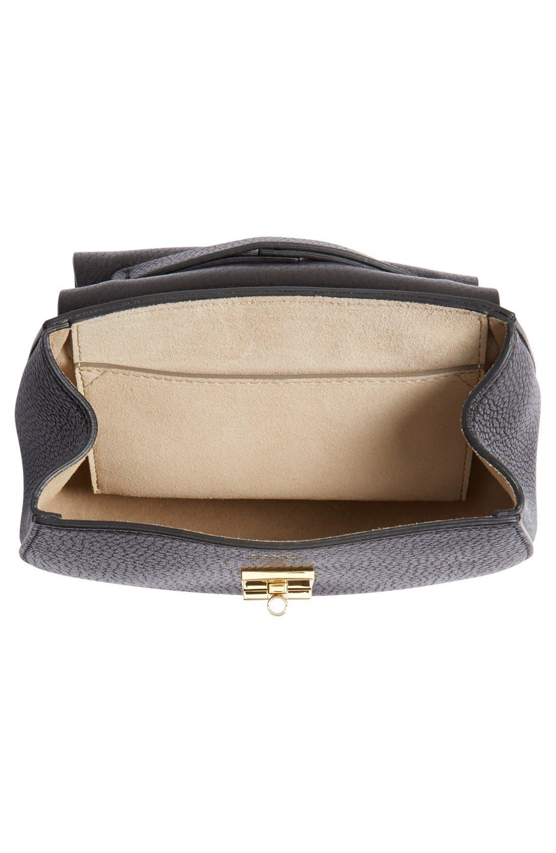 Alternate Image 4  - Chloé 'Mini Drew' Leather Shoulder Bag